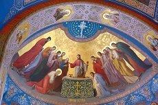 Тайная Вечеря Роспись храма на Валааме 230 par 153