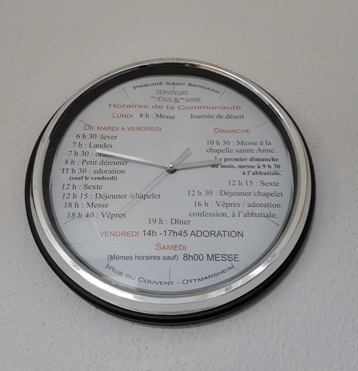 Horloge des offices 700 par 725